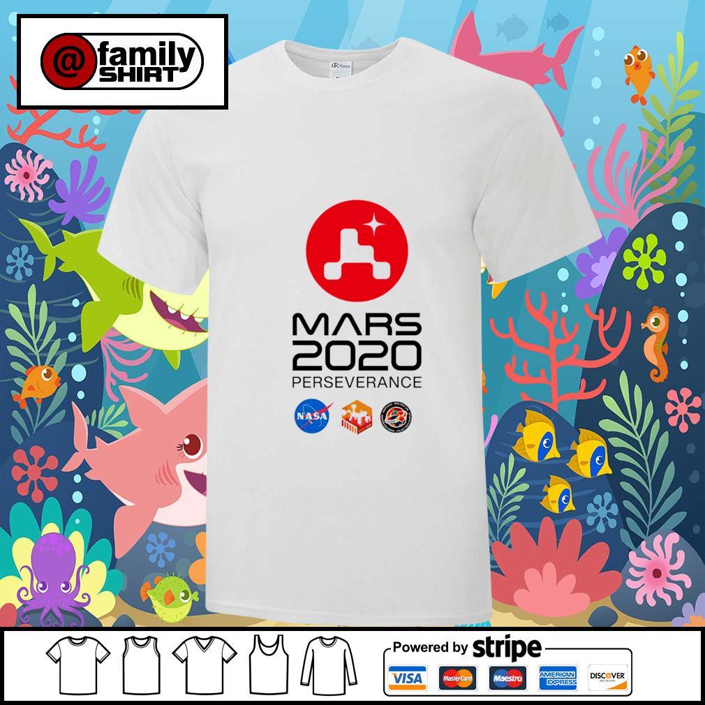 NaSa Mars Rover Perseverance shirt