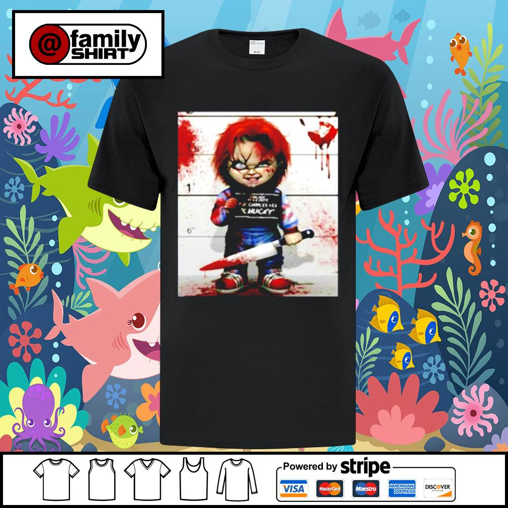Chucky from childs play shirt