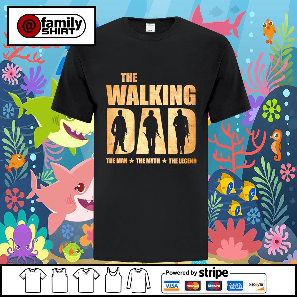 The walking the man the muth the legend shirt