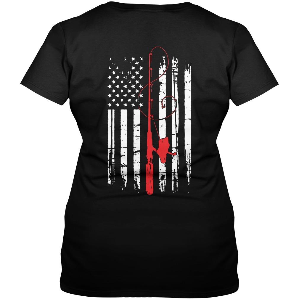 Official Fishing Rods V-neck t-shirt