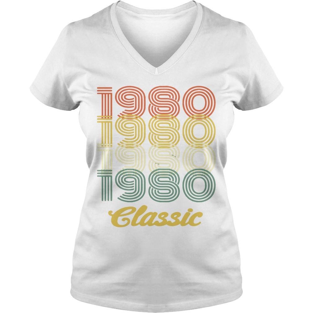 1980 Classic V-neck t-shirt