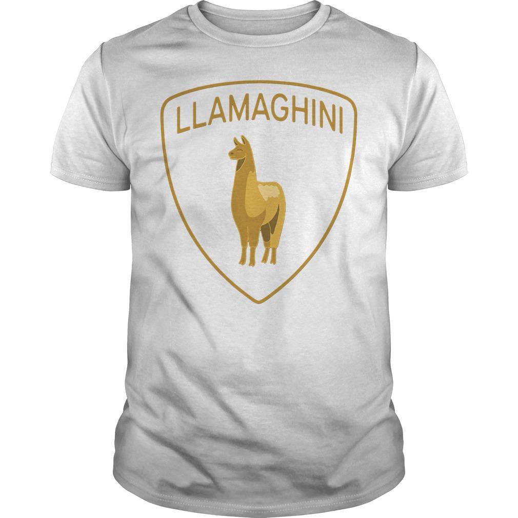 Official Llamaghini Shirt