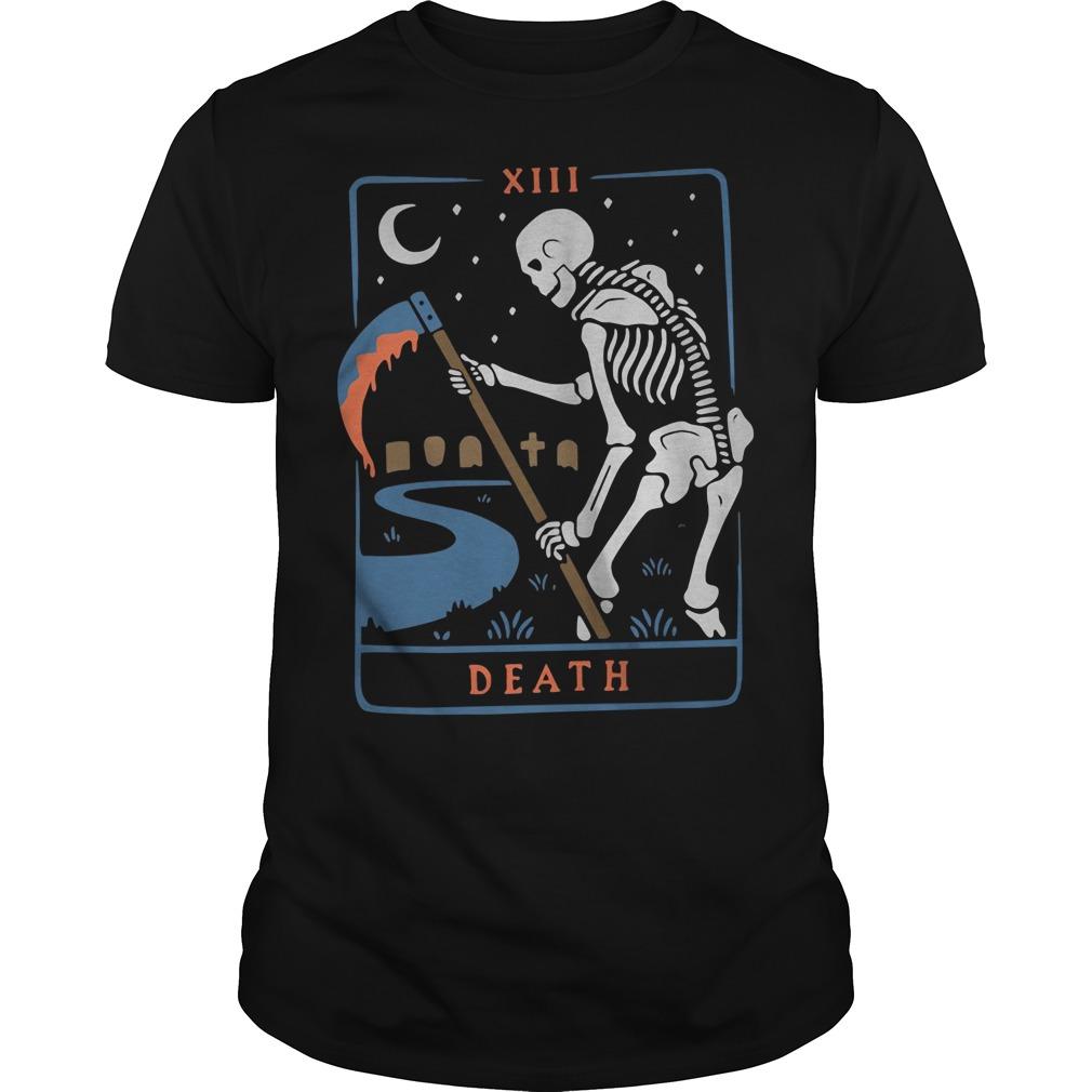 Skeleton Xiii Death Shirt