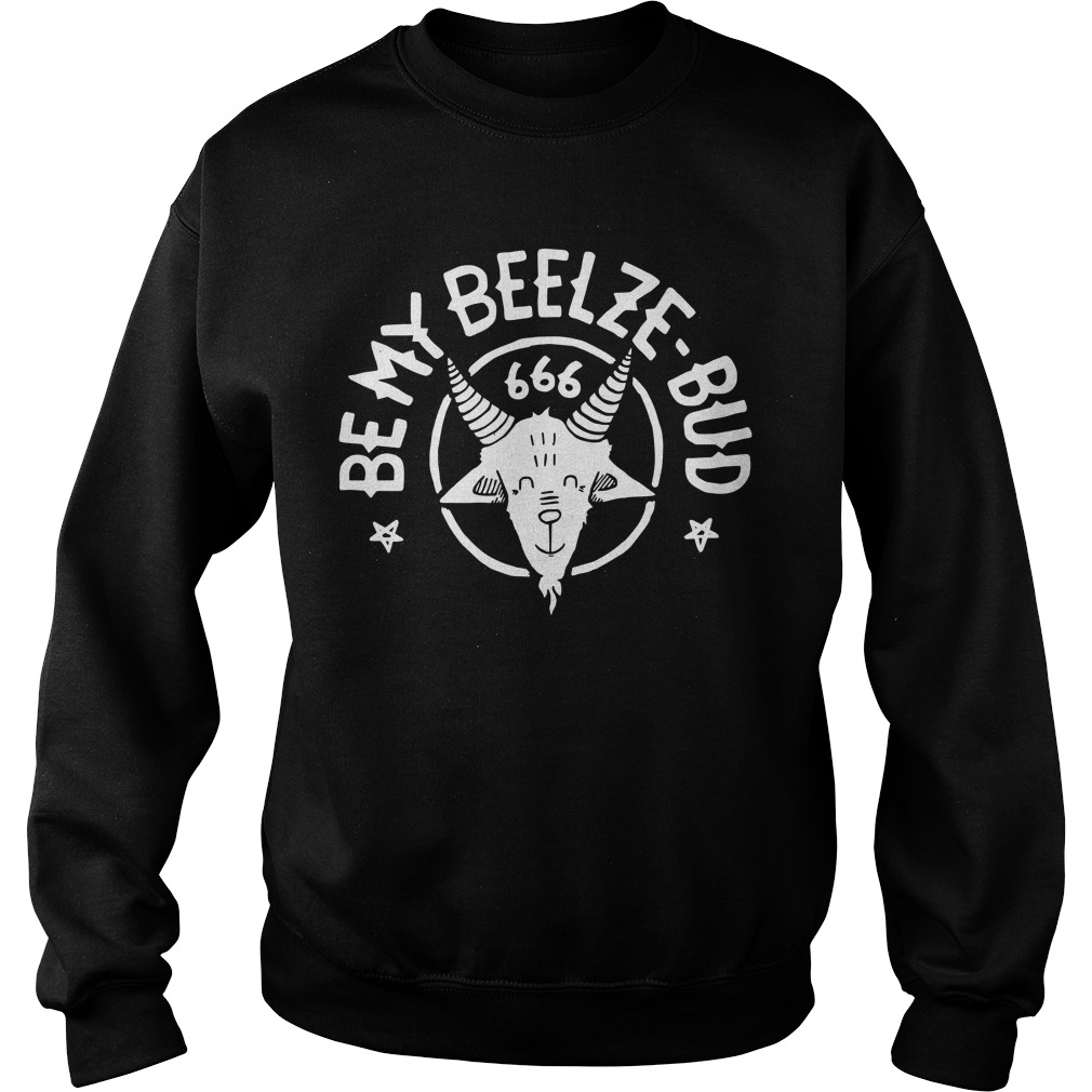 Be My Beelze Bud 666 Sweater