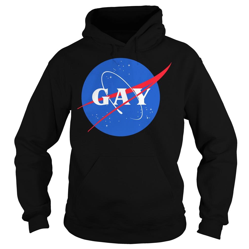 Nasa Gay Pride Logo Hoodie