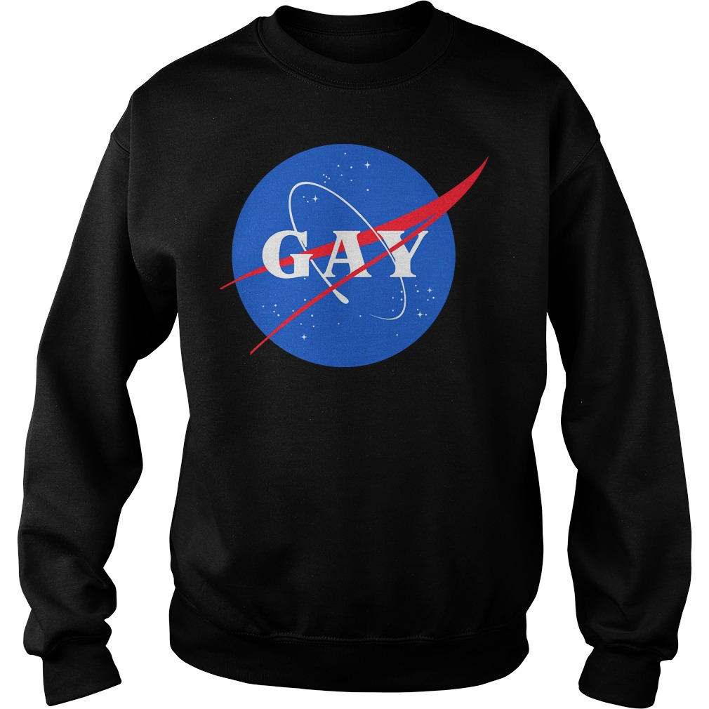 Nasa Gay Pride Logo Sweater