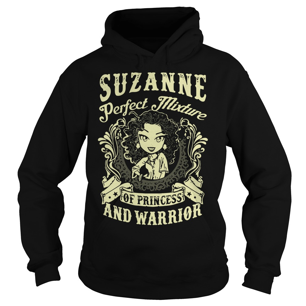Suzanne Perfect Mixture Of Princess And Warrior Hoodie