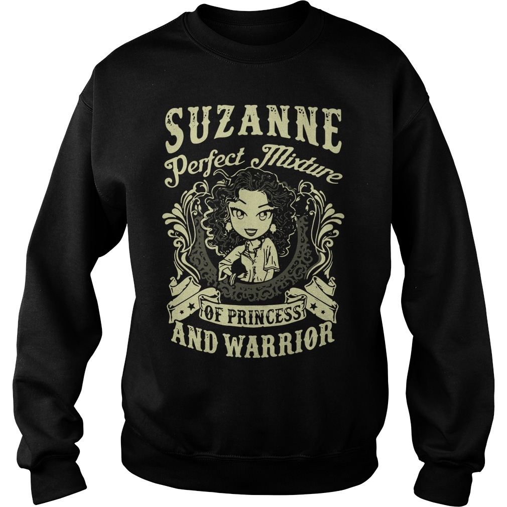 Suzanne Perfect Mixture Of Princess And Warrior Sweater