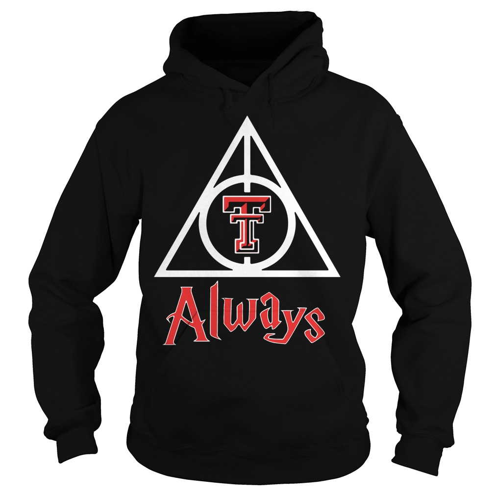 Texas Tech Red Raiders Deathly Hallows Hoodie