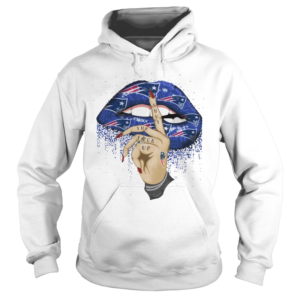 New England Patriots lips shut the fuck up shirt 7f41d3b57