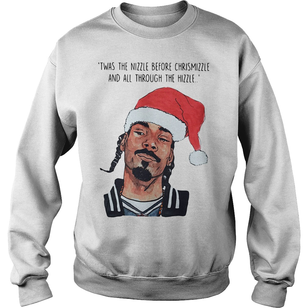 Snoop Dogg Twas Nizzle Christmizzle Hizzles Sweater