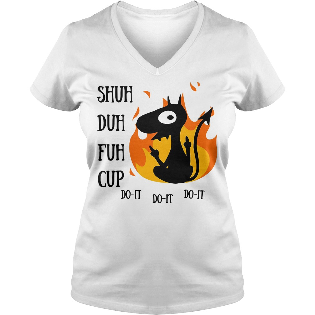 Disenchantment Luci Shuh Duh Fuh Cup V-neck T-shirt
