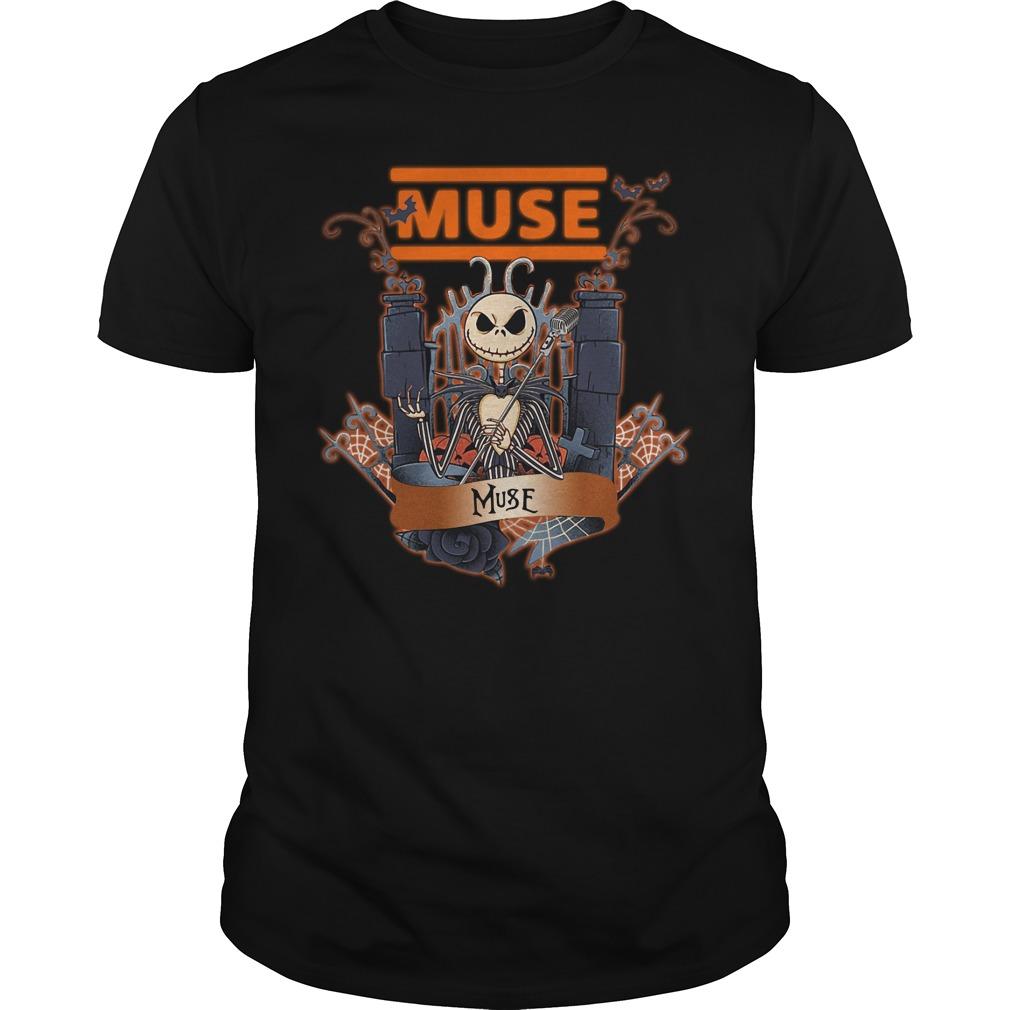 Halloween Jack Skellington Muse Shirt