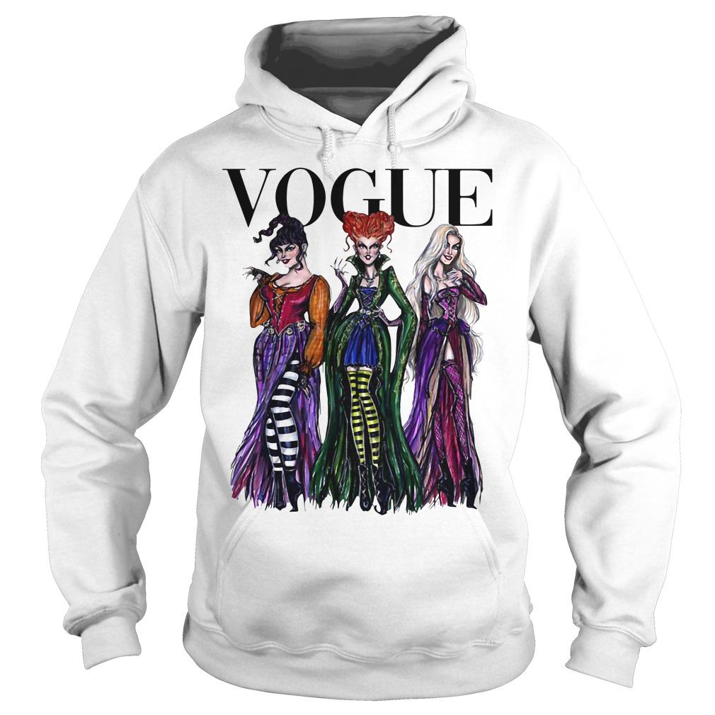 Official Hocus Pocus Vogue Halloween Hoodie