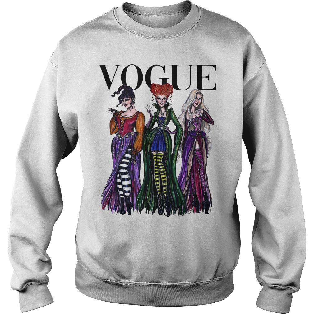 Official Hocus Pocus Vogue Halloween Sweater