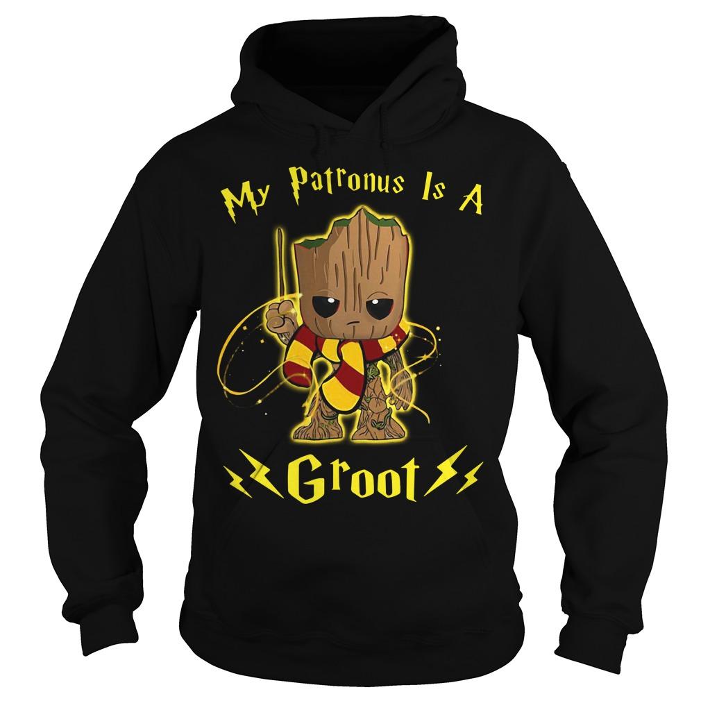 My Patronus Is A Groot Hoodie