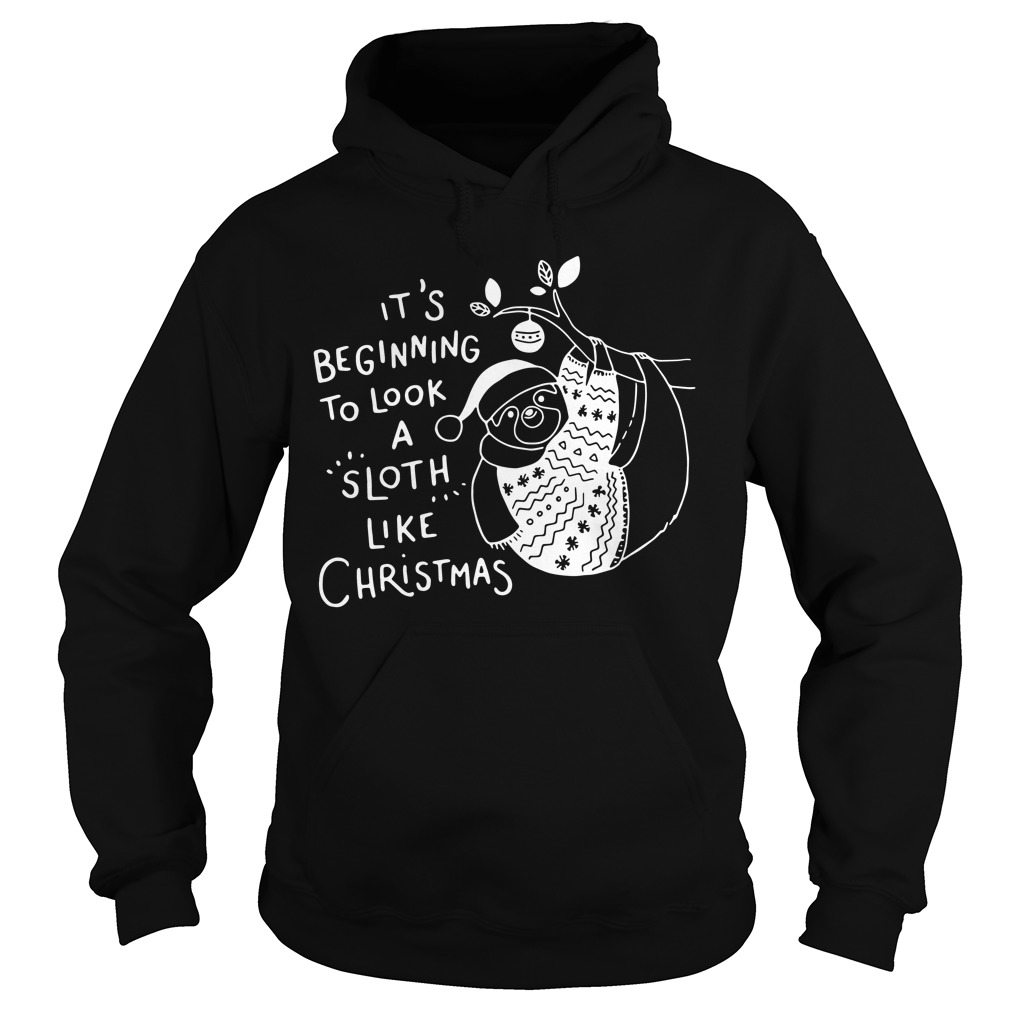 It\'s beginning to look a sloth like Christmas sweater