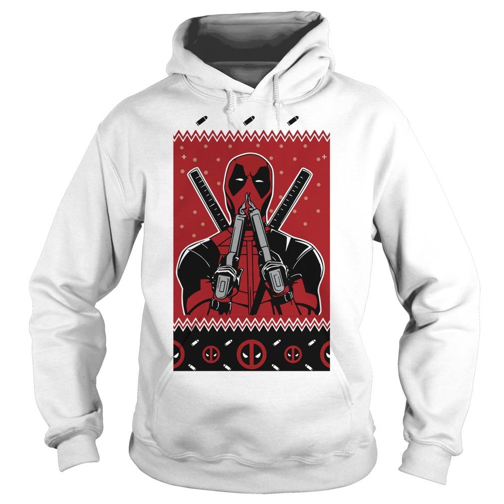 Merry Christmas Deadpool Fan Hoodie