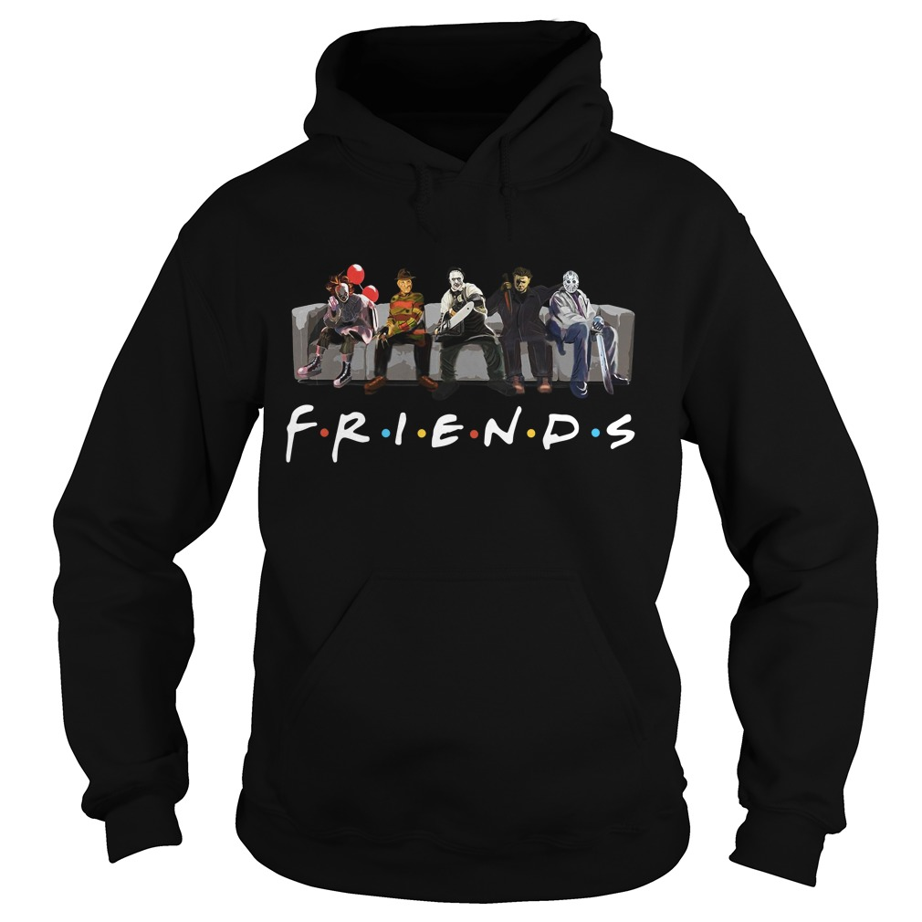 Official Horror Friends Halloween Hoodie