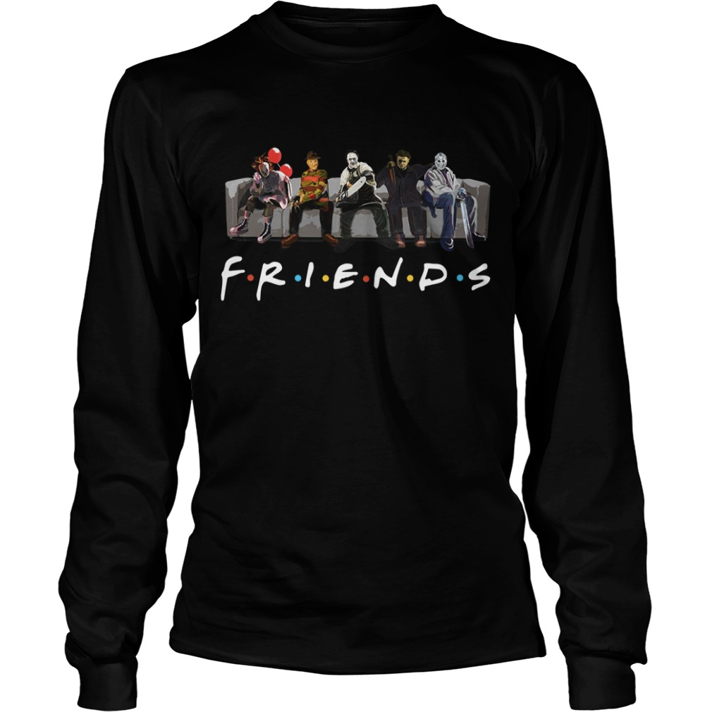 Official Horror Friends Halloween Longsleeve Tee
