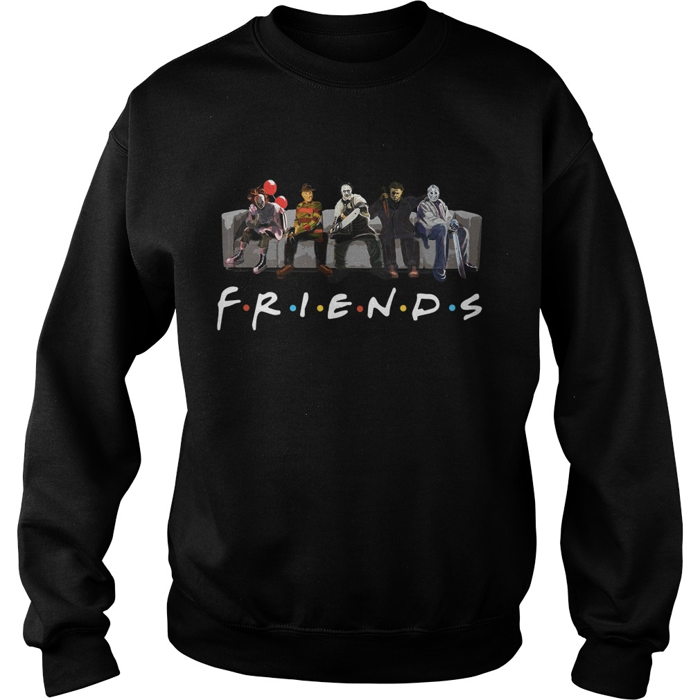 Official Horror Friends Halloween Sweater