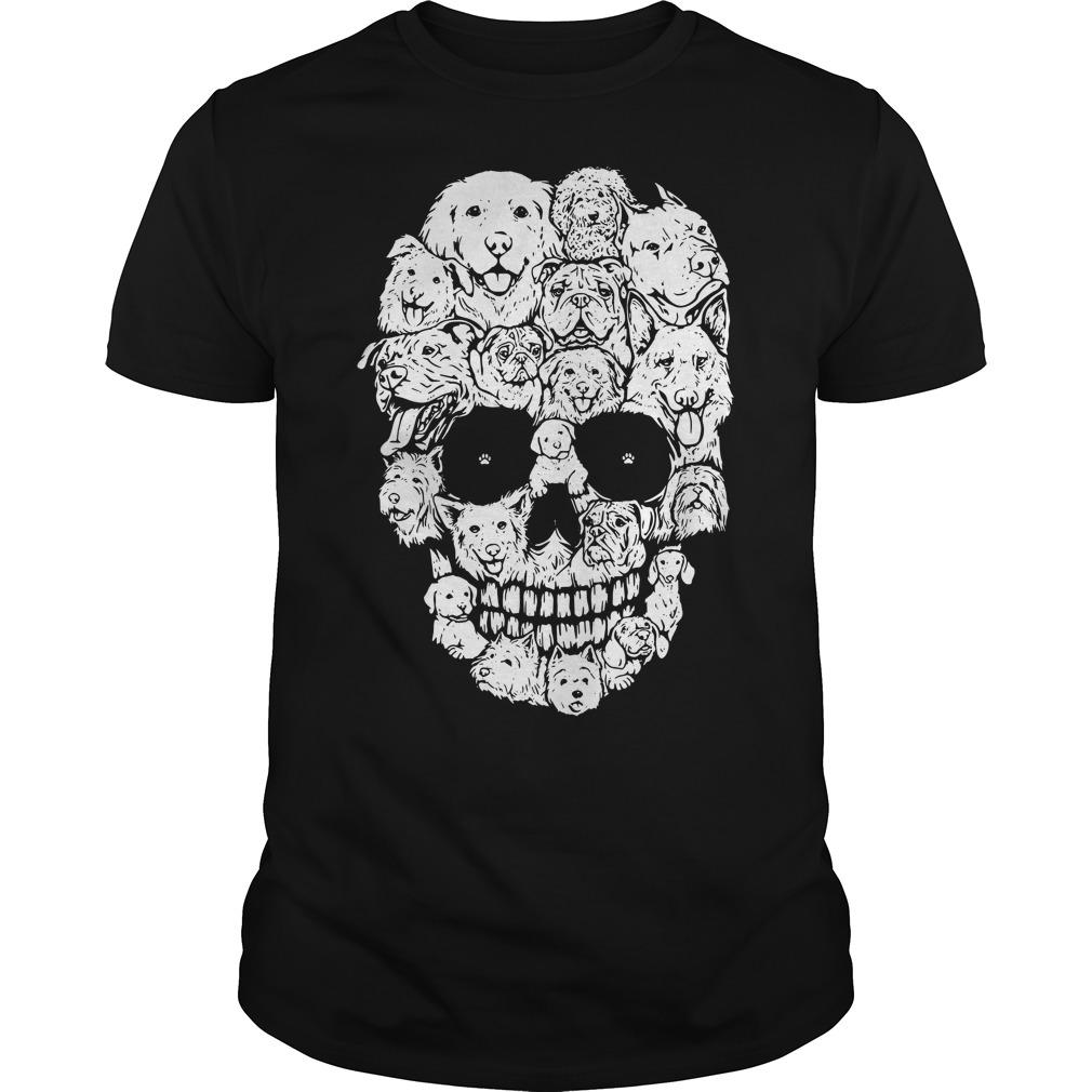 Official Skull Dogs Halloween Shirt