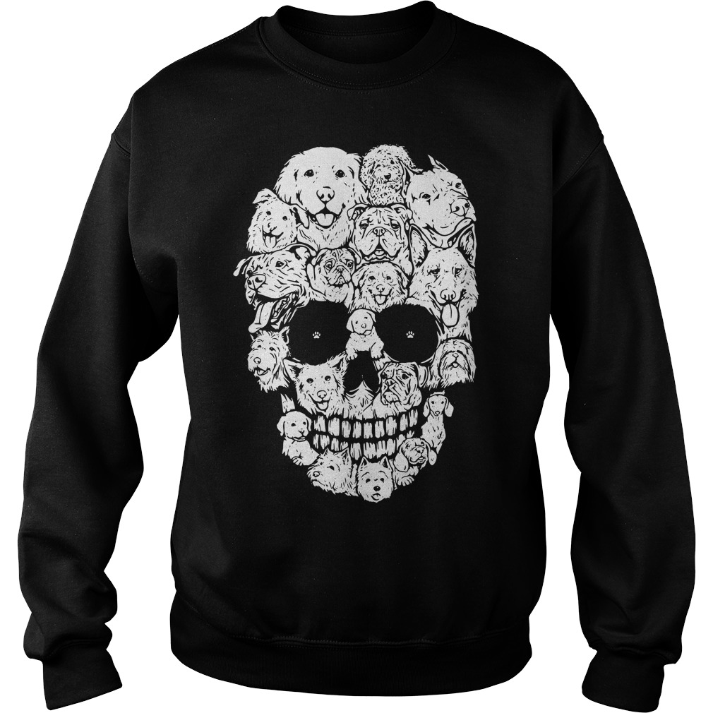 Official Skull Dogs Halloween Sweater
