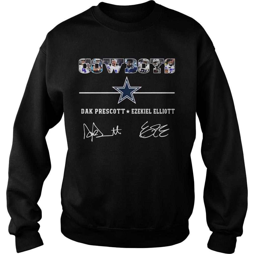 Dallas Cowboys Dak Prescott Ezekiel Elliott Sweater