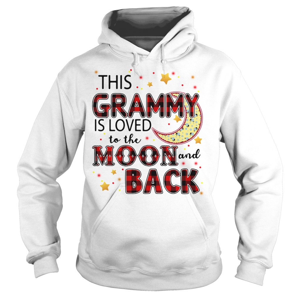 This Grammy Is Loved To The Moon And Back Hoodie