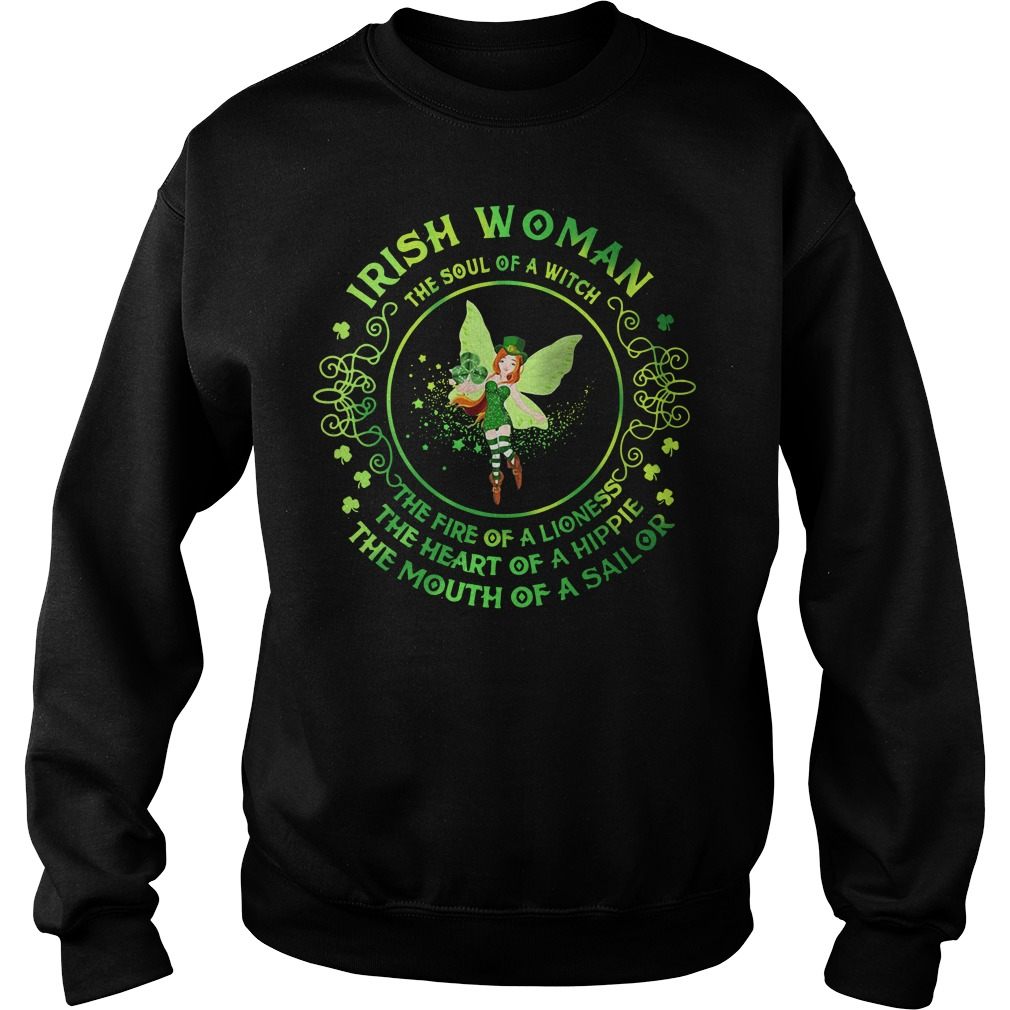 Irish Woman The Soul Of A Witch Sweater