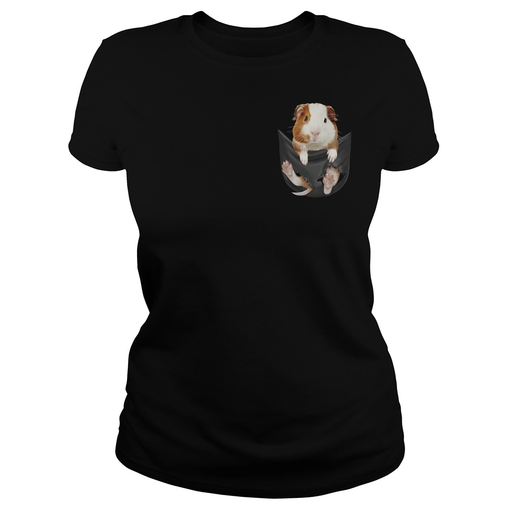 Official Guinea Pig Pocket Ladies Tee