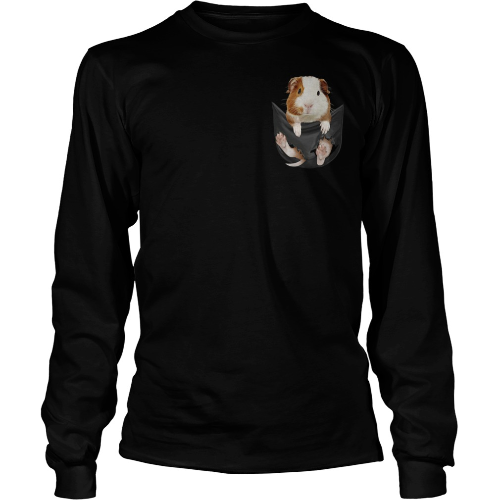 Official Guinea Pig Pocket Longsleeve Tee