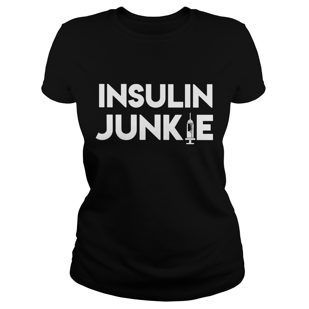 Official Insulin Junkie Ladies Tee
