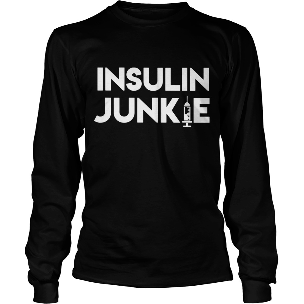 Official Insulin Junkie Longsleeve Tee