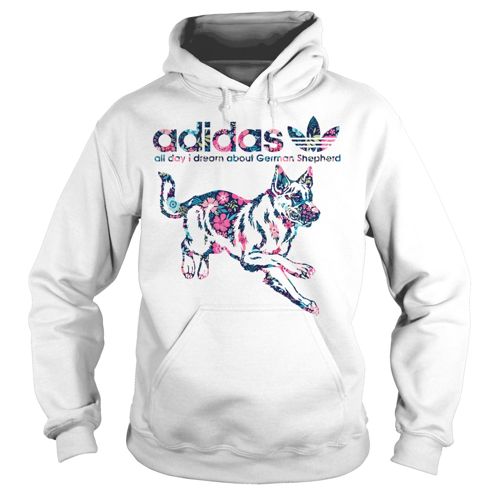 Adidas All Day I Dream About German Shepherd Hoodie