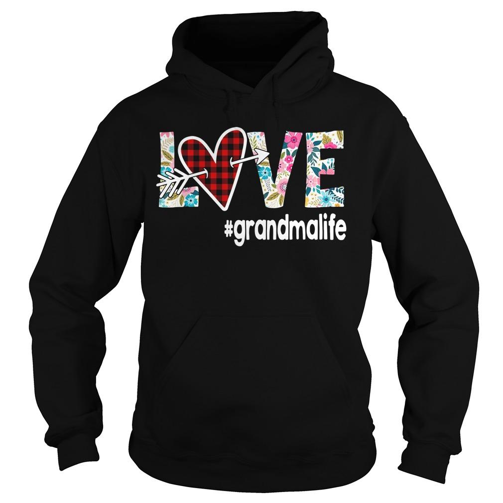 Love Grandmalife Flower Hoodie
