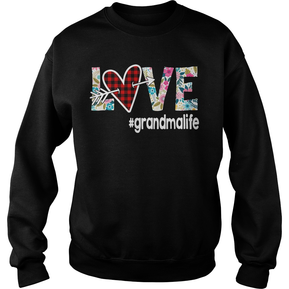 Love Grandmalife Flower Sweater