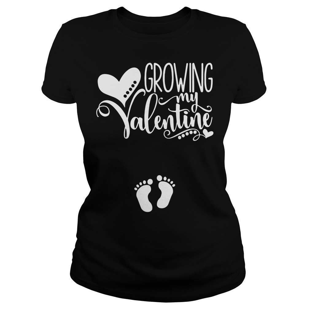 Official Growing My Valentine Ladies Tee