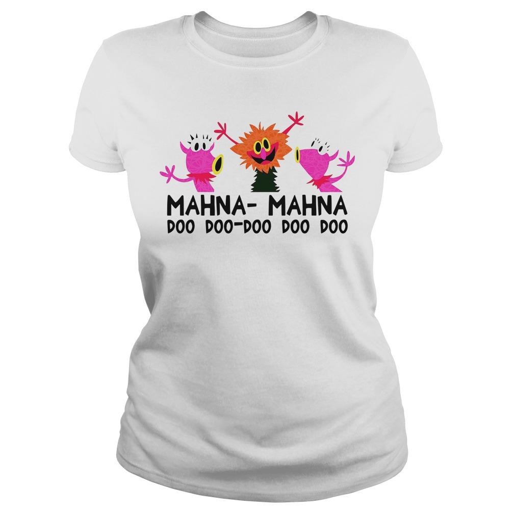 Official The Muppet Mahna Mahna Doo Doo Doo Doo Doo Ladies Tee