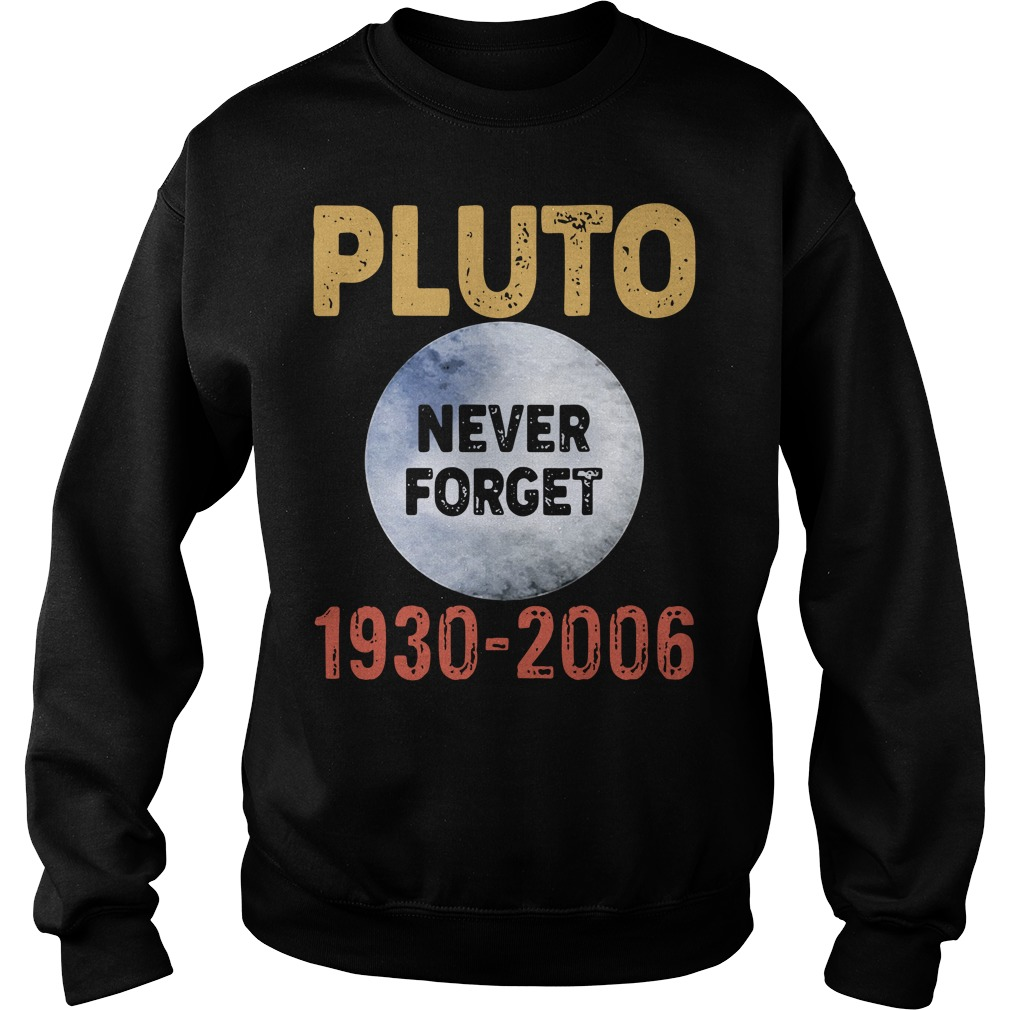 Pluto Never Forget 1930 2006 Sweater