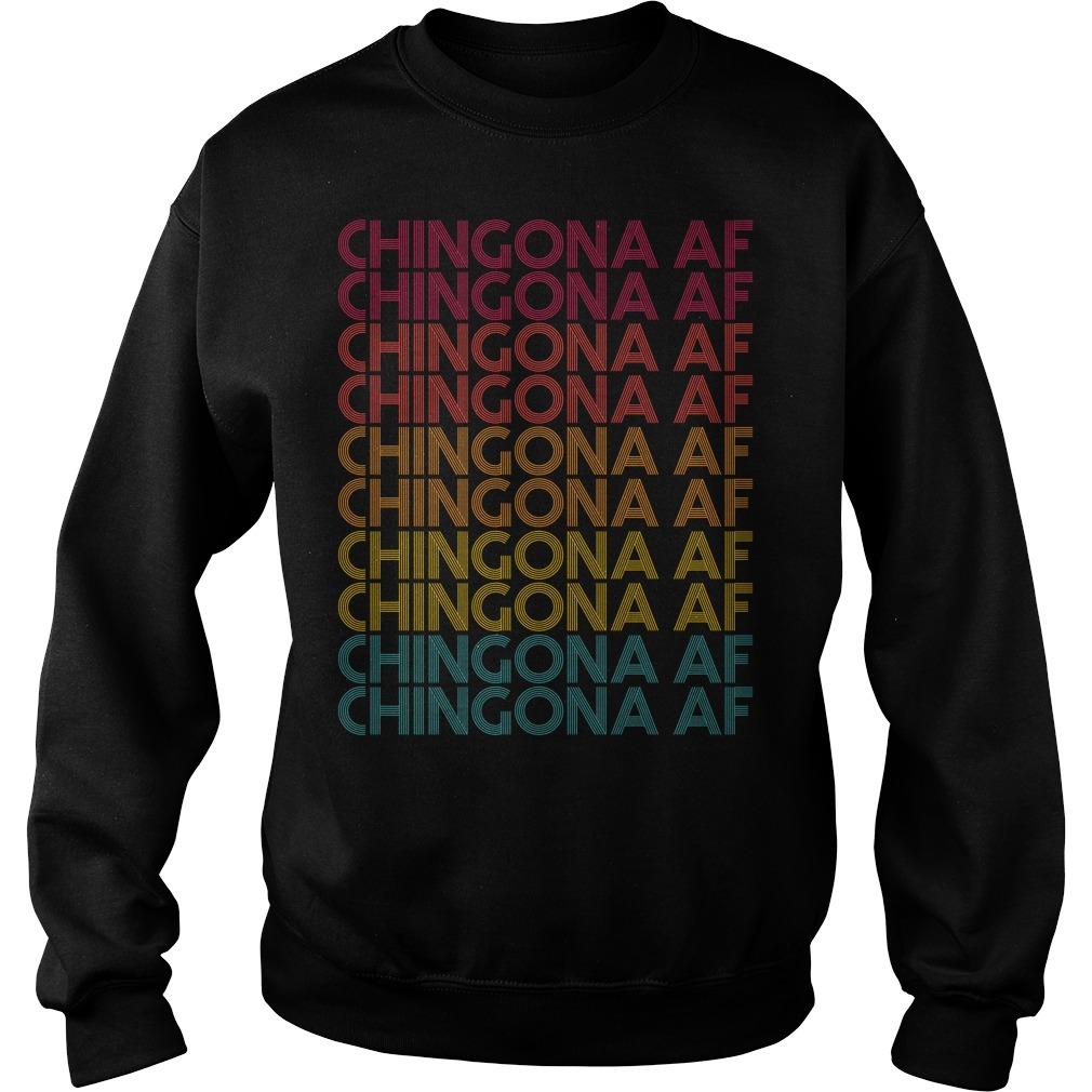 Chingona Af Chingona Af Chingona Af Chingona Af Sweater