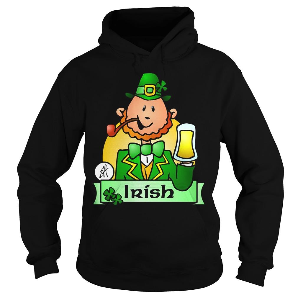Irish Leprechaun Drink Beer Hoodie