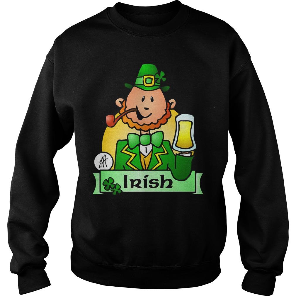 Irish Leprechaun Drink Beer Sweater