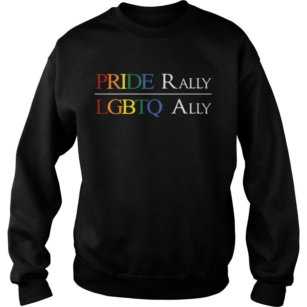 Pride Rally Lgbtq Ally Sweater