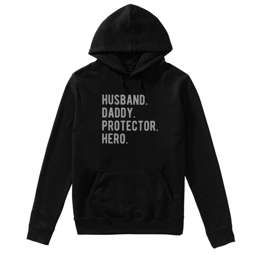 Husband Daddy Protector Hero Hoodie