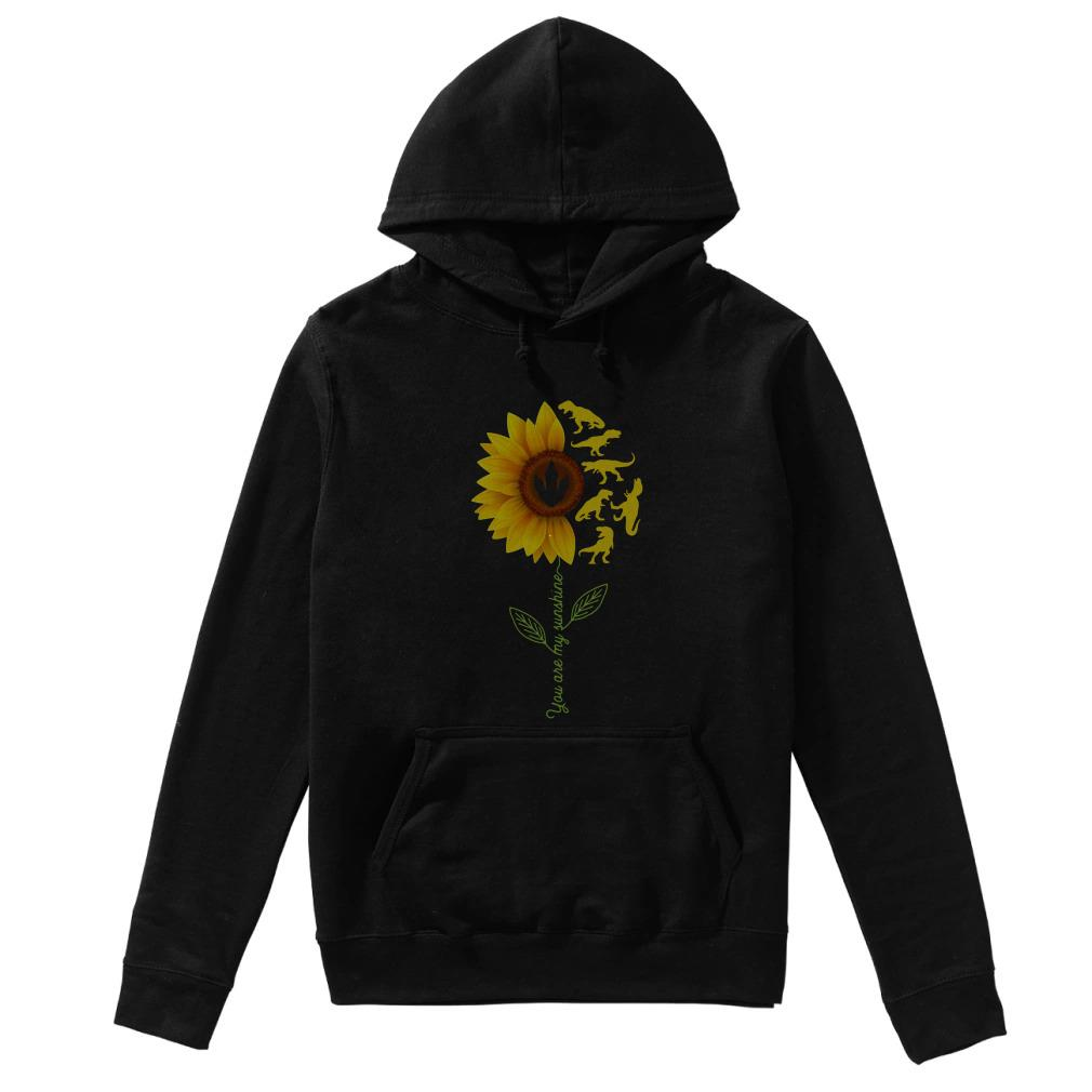 Sunflower T Rex You Are My Sunshine Hoodie