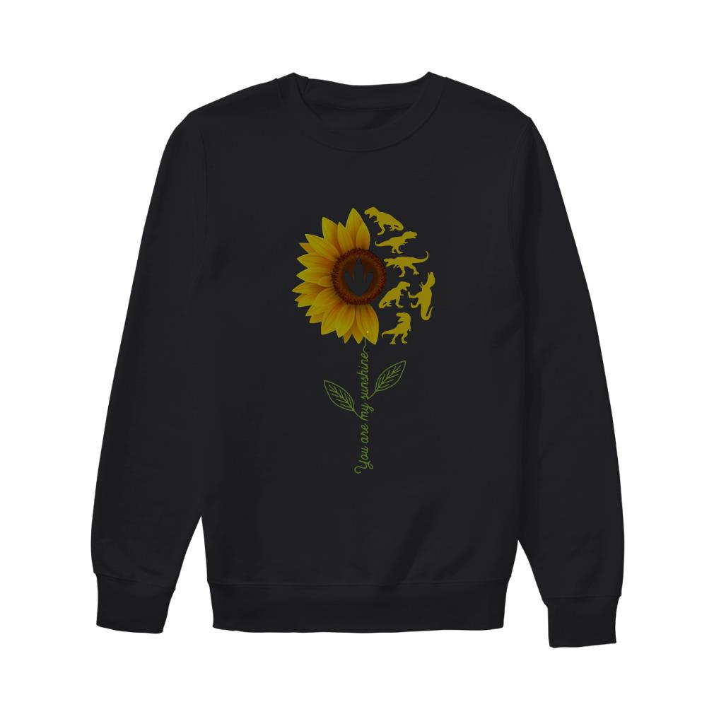 Sunflower T Rex You Are My Sunshine Sweater