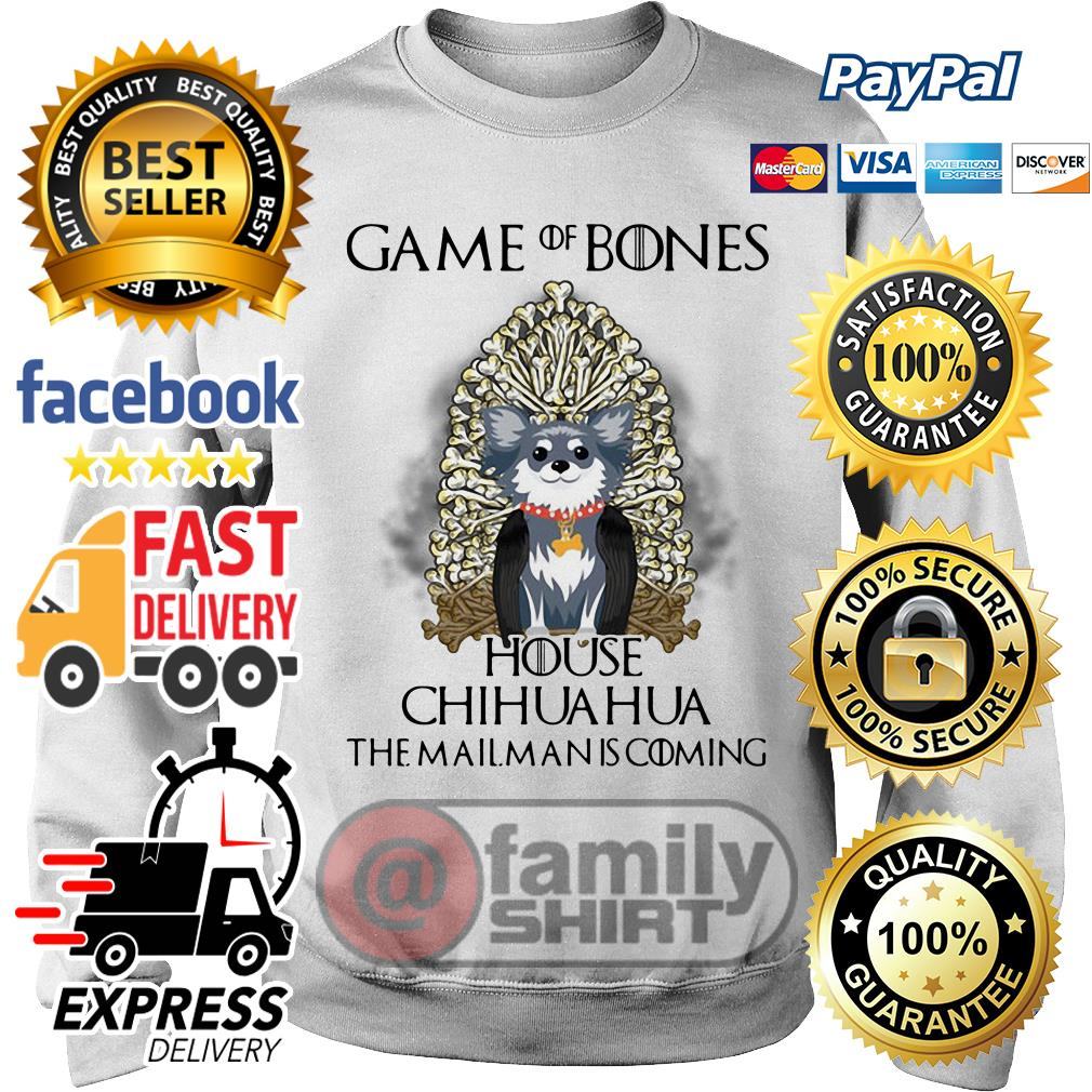 Game Of Bones House Chihuahua The Mailman Is Coming Sweater