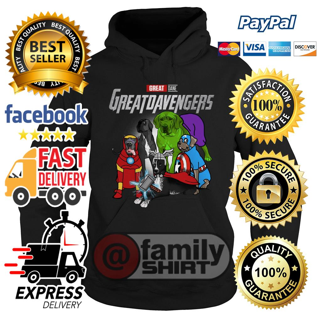 Marvel Great Dane Great Dane Avengers Hoodie