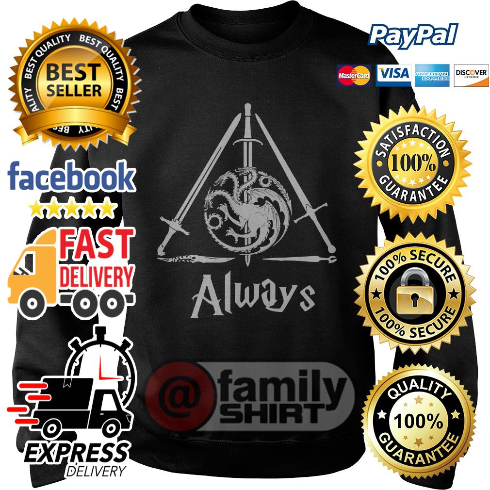 The Deathly Hallows Game Of Thrones Always Sweater